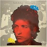 Bob Dylan Biograph UK cassette box
