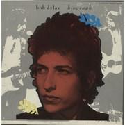 Bob Dylan Biograph USA cassette box