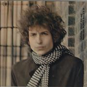 Click here for more info about 'Bob Dylan - Blonde On Blonde - graduated orange'