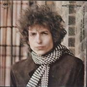 Click here for more info about 'Bob Dylan - Blonde On Blonde - Graduated Orange label - EX'
