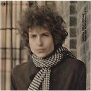 Bob Dylan Blonde On Blonde - Graduated Orange label + Glossy sleeve UK 2-LP vinyl set