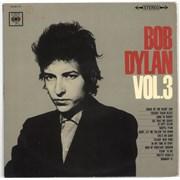 Bob Dylan Bob Dylan Vol. 3 - VG Japan vinyl LP