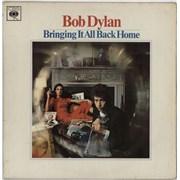 Bob Dylan Bringing It All Back Home - 1st - VG/EX UK vinyl LP