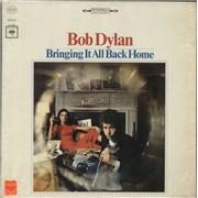 Bob Dylan Bringing It All Back Home - 1st - shrink USA vinyl LP