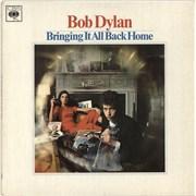 Bob Dylan Bringing It All Back Home - 1st - Mono - EX UK vinyl LP