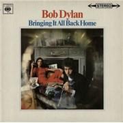 Bob Dylan Bringing It All Back Home - 2nd UK vinyl LP
