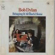 Bob Dylan Bringing It All Back Home - 3rd  - White 360 USA vinyl LP