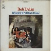 Bob Dylan Bringing It All Back Home - 4th USA vinyl LP