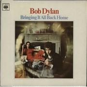 Bob Dylan Bringing It All Back Home - 70s smooth - Fr Lam UK vinyl LP