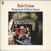 Bob Dylan Bringing It All Back Home - graduated orange label UK vinyl LP