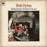 Bob Dylan Bringing It All Back Home - plain orange label - EX UK vinyl LP