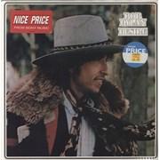 Bob Dylan Desire - stickered p/s UK vinyl LP