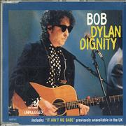 Bob Dylan Dignity UK CD single