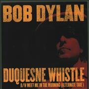 Click here for more info about 'Bob Dylan - Duquesne Whistle'