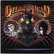 Bob Dylan Dylan & The Dead - EX UK vinyl LP