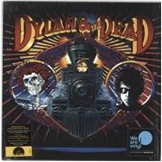 Bob Dylan Dylan & The Dead - RSD18 - Coloured Vinyl UK vinyl LP