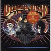Bob Dylan Dylan & The Dead UK vinyl LP