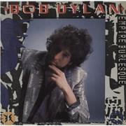 Bob Dylan Empire Burlesque Australia vinyl LP