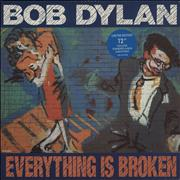 Click here for more info about 'Bob Dylan - Everything Is Broken + Print'