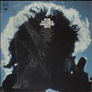 Bob Dylan Greatest Hits + Poster USA vinyl LP
