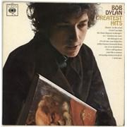 Bob Dylan Greatest Hits - 1st Mono - EX UK vinyl LP