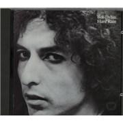 Bob Dylan Hard Rain UK CD album