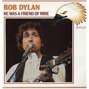 Bob Dylan He Was A Friend Of Mine Germany vinyl LP