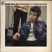 Click here for more info about 'Bob Dylan - Highway 61 Revisited - 1st - VG'