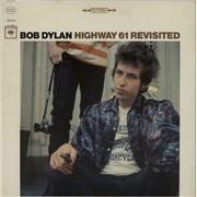 Bob Dylan Highway 61 Revisited - 1st USA vinyl LP