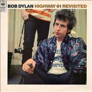 Click here for more info about 'Bob Dylan - Highway 61 Revisited - graduated orange'