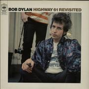 Bob Dylan Highway 61 Revisited - Red label UK vinyl LP