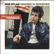 Bob Dylan Highway 61 Revisited - White Vinyl - Mispress France vinyl LP