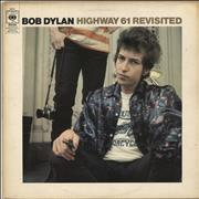 Bob Dylan Highway 61 Revisited - plain orange - EX UK vinyl LP