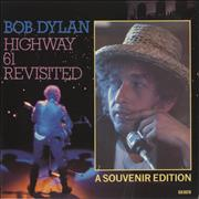 "Bob Dylan Highway 61 Revisited - A Souvenir Edition UK 7"" vinyl"