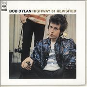 Bob Dylan Highway 61 Revisited Japan CD album Promo