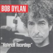 Click here for more info about 'Bob Dylan - Historical Recordings'