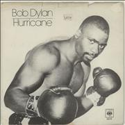 Click here for more info about 'Bob Dylan - Hurricane (Part 1) - P/S'