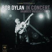 Bob Dylan In Concert: Brandeis University 1963 UK CD album