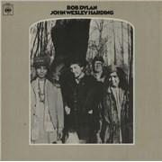 Bob Dylan John Wesley Harding - 1st - VG UK vinyl LP