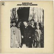 Bob Dylan John Wesley Harding - Matt P/S UK vinyl LP