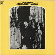 Bob Dylan John Wesley Harding - red label UK vinyl LP