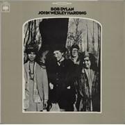 Bob Dylan John Wesley Harding Portugal vinyl LP