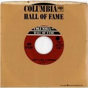 "Bob Dylan Just Like A Woman USA 7"" vinyl"