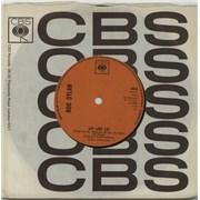 "Bob Dylan Lay Lady Lay - Solid UK 7"" vinyl"