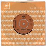 Click here for more info about 'Bob Dylan - Like A Rolling Stone - 1st - 3pr'