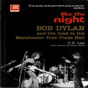 Bob Dylan Like The Night UK book
