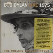 Bob Dylan Live 1975 : The Rolling Thunder Revue UK 3-CD set