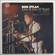 "Bob Dylan Live At The Isle Of Wight EP Japan 7"" vinyl"
