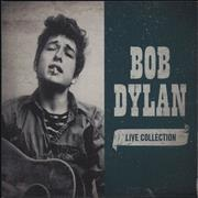 Bob Dylan Live Collection UK 4-CD set