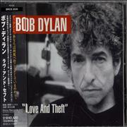 Click here for more info about 'Bob Dylan - Love And Theft + Obi'